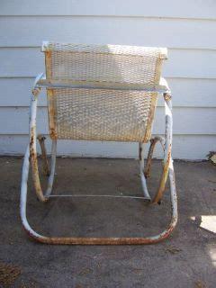 antique metal glider swing vgc vintage antique metal porch rocker lawn furniture
