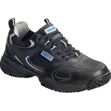 steel toed athletic shoes s steel toe black work athletic shoe nautilus n2111