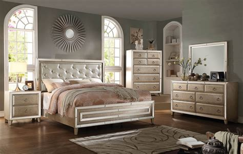 mirrored bedroom sets bedroom furniture with mirror