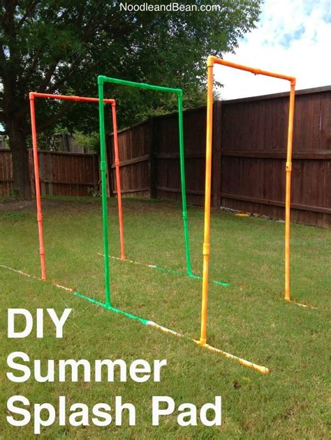 backyard splash pad diy diy splash pad diy summer splash pad backyard