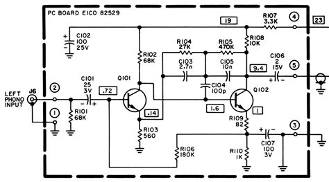 germanium transistor phono pre modifying and restoring the cortina 3070 page 2