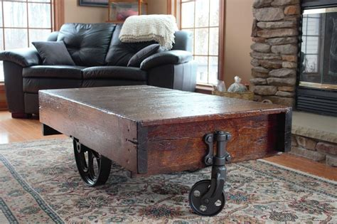 Antique Coffee Table With Wheels Antique Coffee Table With Wheels Coffee Table Design Ideas