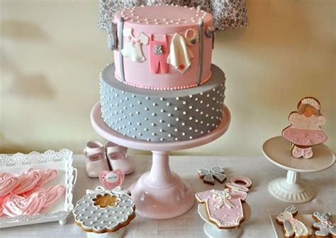 Pink And Grey Baby Shower Ideas by Kara S Ideas Pink Gray Baby Shower Ideas Decor