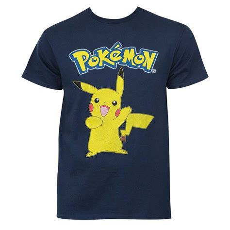 Tshirt Pikachu30 s navy blue pikachu t shirt tvmoviedepot