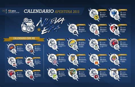 Calendario Liga Mx America 2015 Puebla Fc Conoce El Calendario Para El Apertura 2015 Y