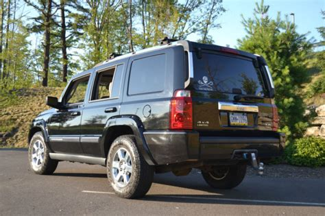 jeep brown leather interior 2006 jeep commander limited hemi black w saddle brown
