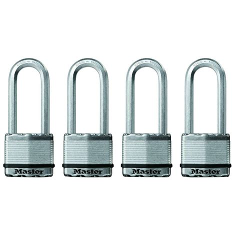 master lock magnum 2 in laminated steel padlock with 2 1