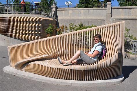 benchartwork ottawa urban furniture parametric