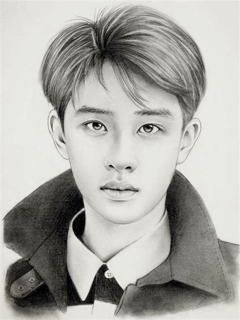 sketchbook exo 226 best images about exo drawing on