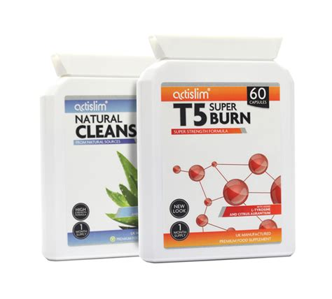 Can I Buy Mega Clean Detox Pills Sepeately by T5 And Cleanse Combo Postal Actislim Nutrition