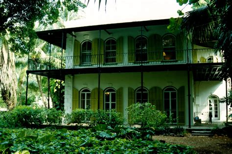 ernest hemingway house the world breaks everyone and afterward some are strong