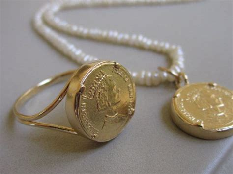 jewelry supplies columbus ohio gold coin jewelry set pearl necklace with coin by