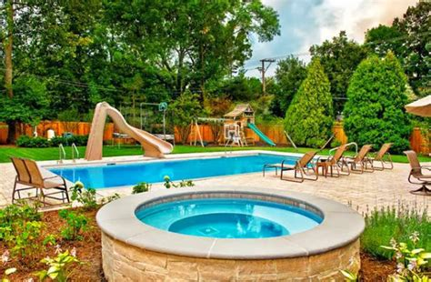 Cool Backyards Ideas Ayanahouse Pictures Of Backyards With Pools