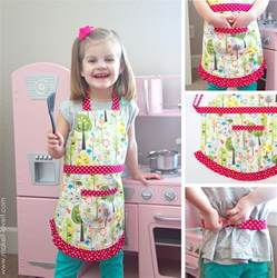 Absolutely Cabinets Farmhouse Gingham Apron A Variation Of The Child S Apron