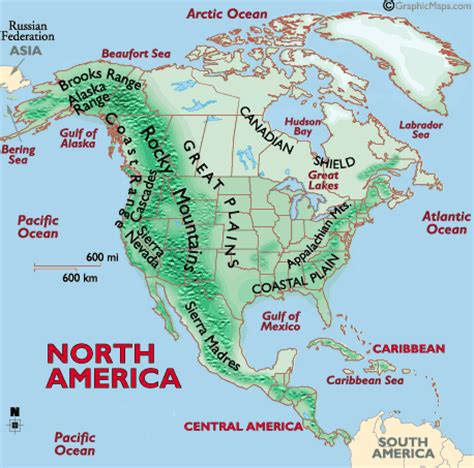 america map quiz physical features histcourse