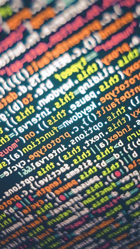 vv code screen  pattern background code wallpaper