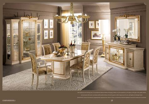 Dining Room Collections by Leonardo Day Arredoclassic Dining Room Italy Collections