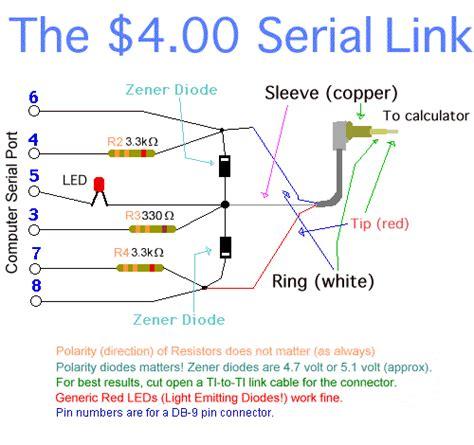 link diagram software serial link plans ticalc org