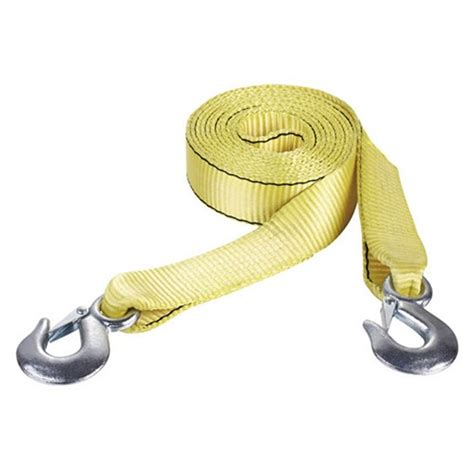 towing straps heavy duty 50mm x 10m with snap hooks high end