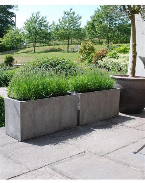 venice trough iota designer planters