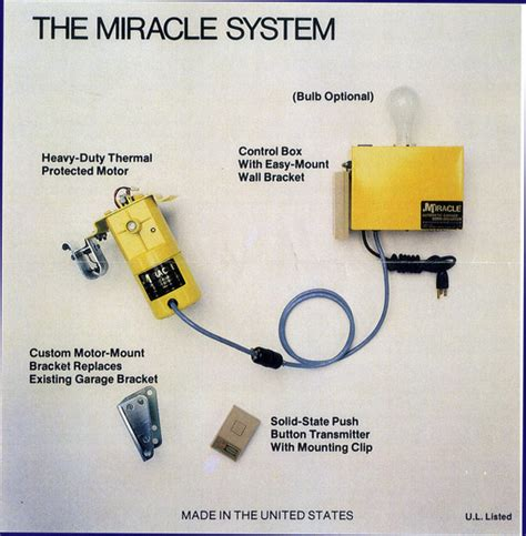 Miracle Garage Door Opener Garage Door Opener Miracle Instrument