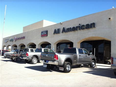 all american dodge midland all american chrysler jeep dodge of midland midland tx