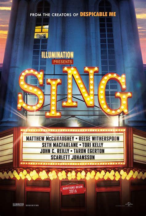 Standar 1 Sing Crom sing 2016 poster 1 trailer addict