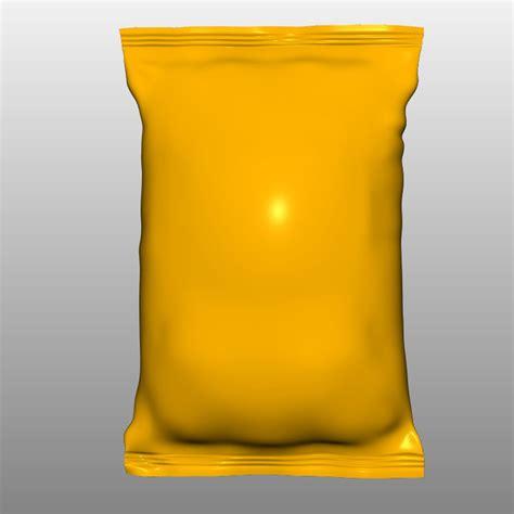Bag 3d obj bag chips
