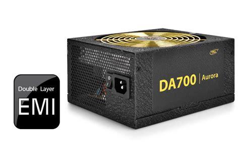 Deepcool Da Series Da700 700w 80 Plus Bronze Psu deepcool psu 700w bronze modular da700 dekada