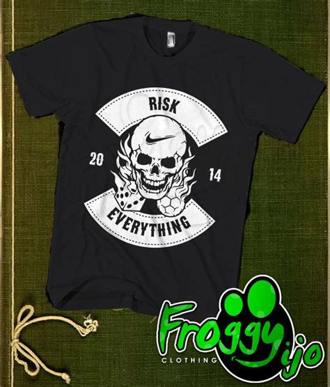 risk everything 2014 tshirt risk everything by froggyijo 18 98 t shirt for