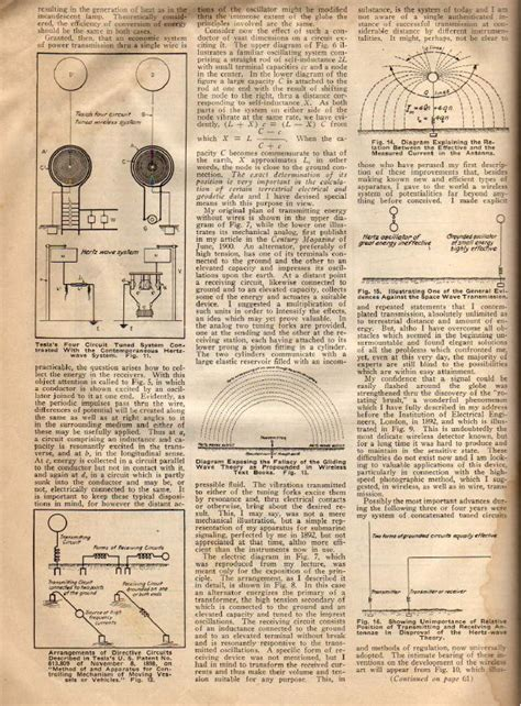 Nikola Tesla Article Nikola Tesla Images 1919 News Atricle The True Wireless