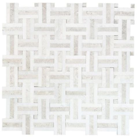 marble mosaic tile jeffrey court windswept marble mosaic tile would look