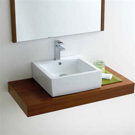 Countertop Wash Basins Uk by Square Counter Top Bathroom Basin Vb039 Uk