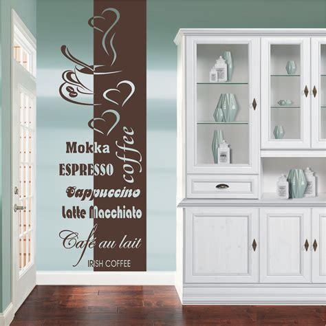 wand tattoo deko shop 24 de wandtattoo banner coffee cappucino deko