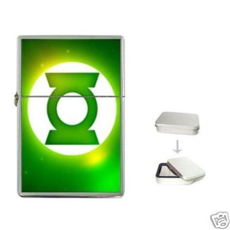 Green Lantern Logo Flip gift selection new green lantern logo flip top lighter