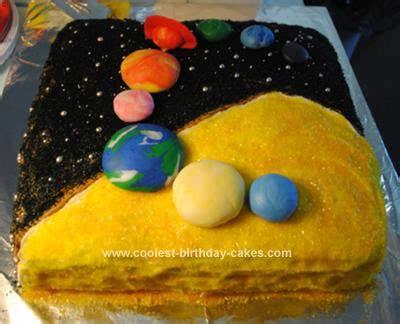 Handmade Solar System - coolest solar system birthday cake solar system solar