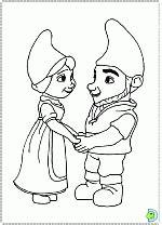 Gnomeo And Juliet Coloring Pages Dinokids Org Gnomeo And Juliet Coloring Pages