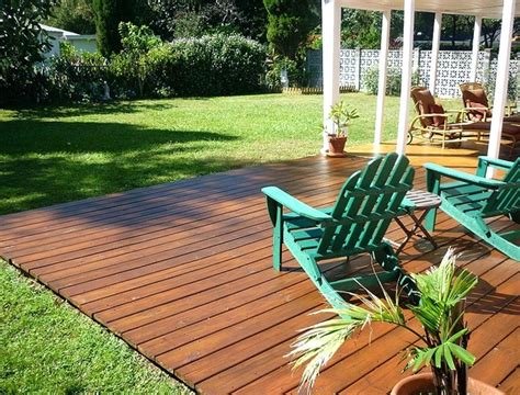 how much to level a backyard how to build a ground level deck aeroc club