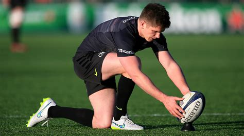 New From Farrell by Owen Farrell Agrees New Term Saracens Deal Itv News