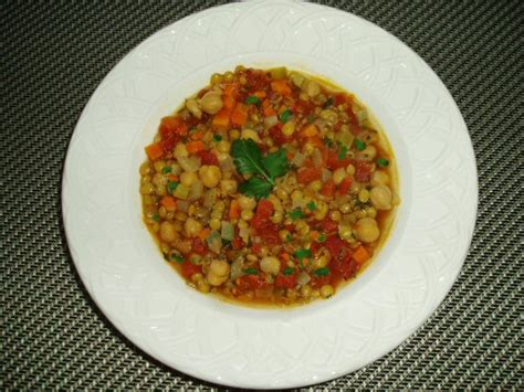 lentil soup mediterranean style meatless mediterranean lentil vegetable and chickpea soup