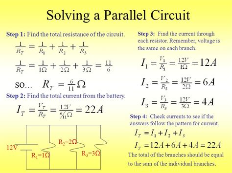 solving resistor circuits current resistance voltage electric power energy series parallel combo circuits with ohm s