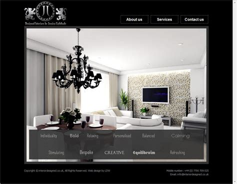 minimalist website for interior design ideas with