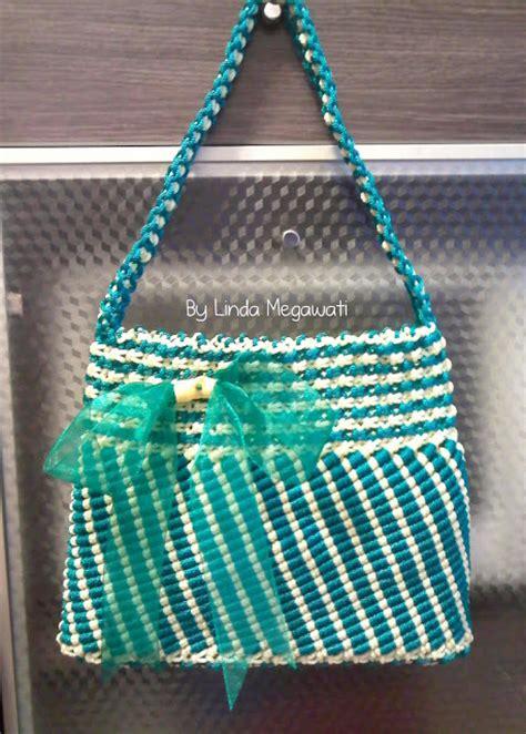 cara membuat tas dari tali kur motif sisik ikan cara membuat tas tali kur liris kerajinan tangan tas dari