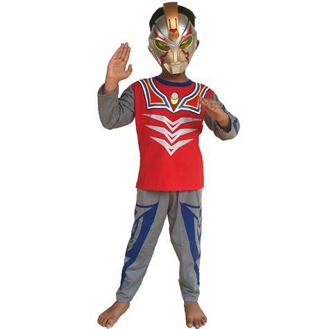 Baju Anak Ultramen jual baju anak kostum topeng ultraman belalangkupukupu