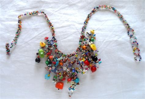 guatemalan beaded necklaces guatemalan glass bead necklace bn528 colibri