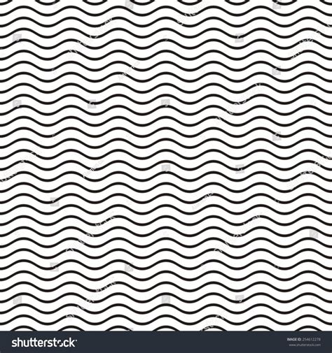 pattern lines eps black seamless wavy line pattern vector stock vector