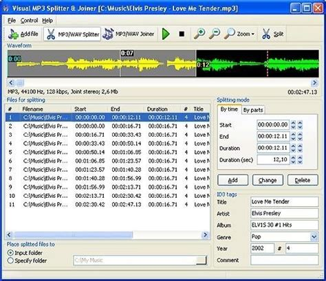 download goldwave mp3 cutter visual mp3 splitter joiner descargar gratis