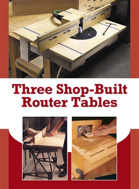 Build Your Own Router Table by 3 Free Diy Router Table Plans For Any Purpose