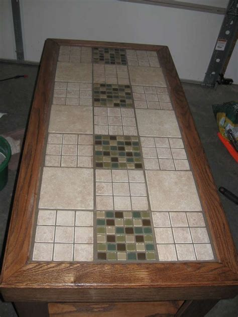 tile top bar table tile a table top diy tiles guest rooms and bar