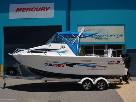 aluminum boat quintrex new quintrex trident 610 650 690 models trailer boats
